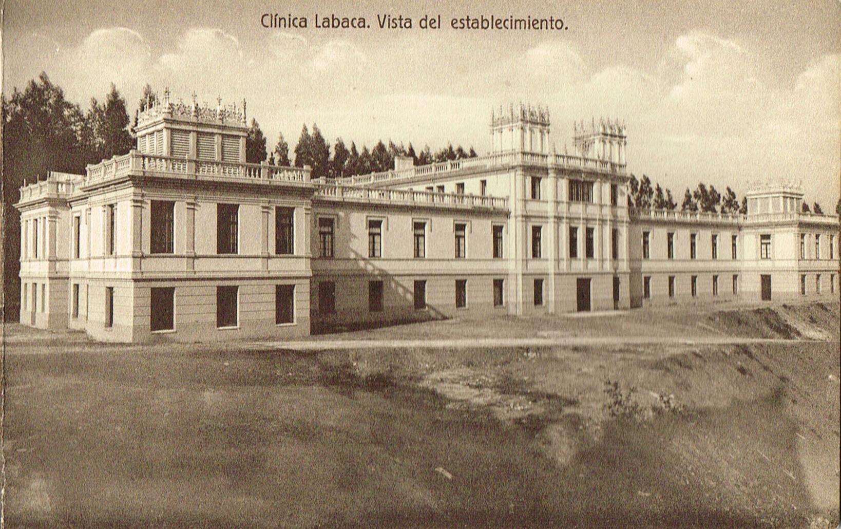 Clínica Labaca, vista del establecimiento