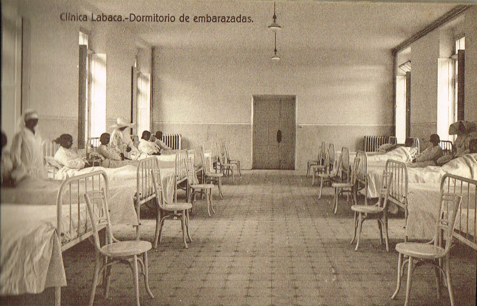 Clínica Labaca, dormitorio de embarazadas