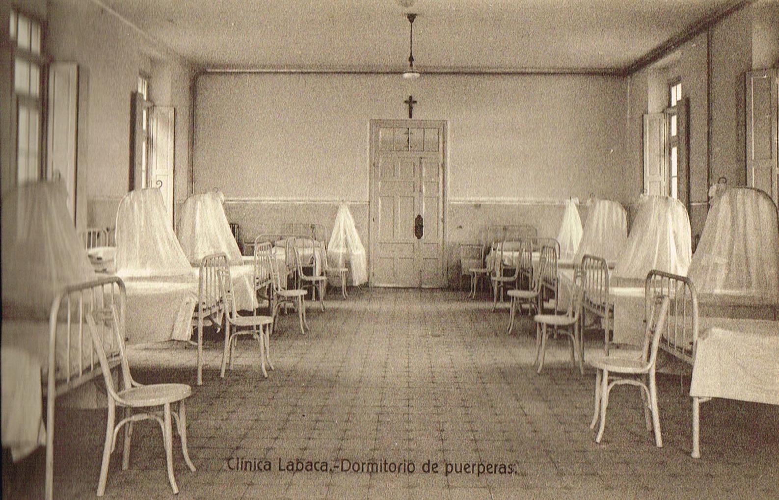 Clínica Labaca, dormitorio de puerperas