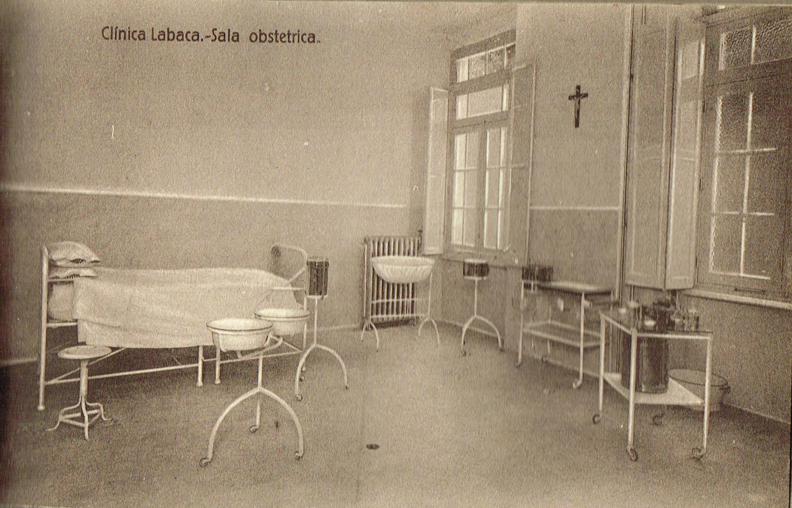 Clínica Labaca, sala obstétrica