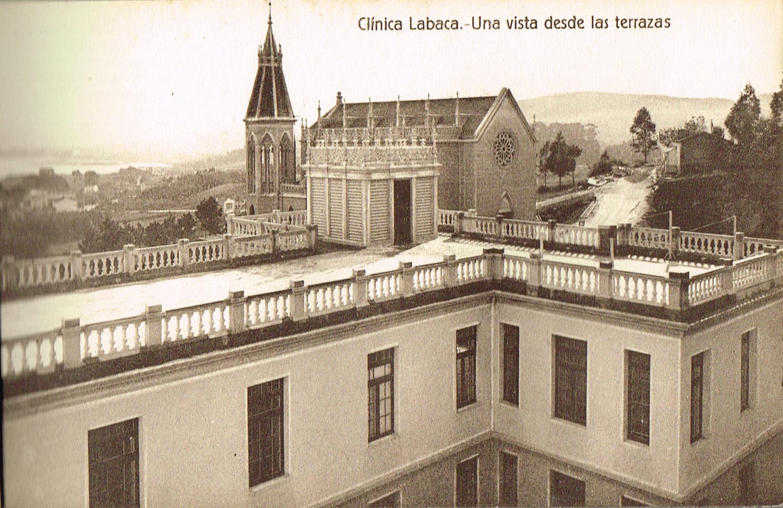 Clínica Labaca, vista desde las terrazas